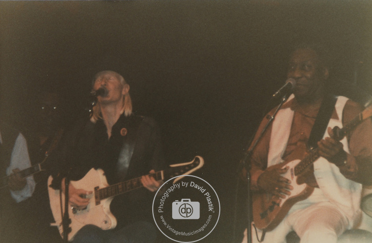 Johnny Winter & Muddy Waters. Beacon Theater 1981.
