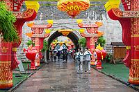 Nanjing, Jiangsu, China.  Zhonghua Gate, 1366-1393.