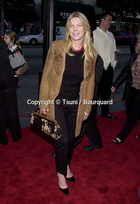 Deborah Kara Unger arriving at the premiere of Salton Sea at the Egyptian Theatre in Los Angeles. April 23, 2002.
