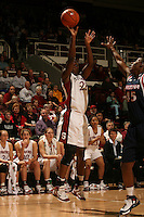19 January 2006: Eziamaka Okafor during Stanford's win over the University of California Golden Bears at Maples Pavilion in Stanford, CA.