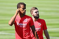 Timothy Chandler (Eintracht Frankfurt) und Marc Stendera (Eintracht Frankfurt) - 24.07.2018: Eintracht Frankfurt Training, Commerzbank Arena