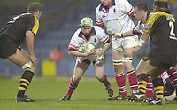 London. Great Britain. Neil Doak,  during the Heineken Cup.London Wasps v Ulster Match, played at Loftus Road, West London. 06/01/2002.  [Mandatory Credit;  Peter Spurrier/Intersport Images]..