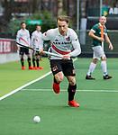 AMSTELVEEN - Rik van Kan (Adam)   tijdens de hoofdklasse competitiewedstrijd heren, AMSTERDAM-ROTTERDAM (2-2). . COPYRIGHT KOEN SUYK