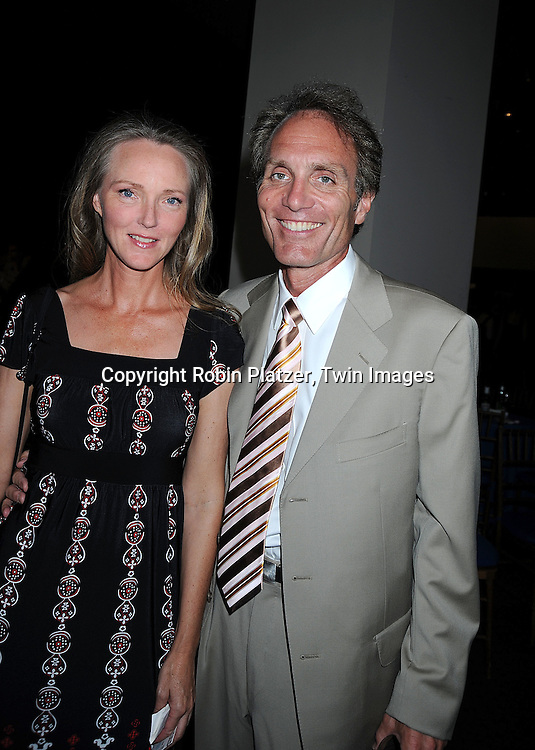 Ellen Wheeler and Chris Goutman..posing for photographers at The 35th Annual Creative Arts & Entertainment Daytime Emmy Awards on June 13, 2008 at Rose Hall in Lincoln Center in New York City.....Robin Platzer, Twin Images