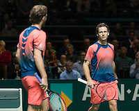 ABN AMRO World Tennis Tournament, Rotterdam, The Netherlands, 19 Februari, 2017, Wesley Koolhof (NED), Matwe Middelkoop (NED)<br /> Photo: Henk Koster