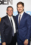 Michael Greif and Aaron Tveit attends the Broadway Opening Night Performance of 'Dear Evan Hansen'  at The Music Box Theatre on December 1, 2016 in New York City.