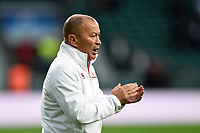 England Rugby Head Coach Eddie Jones. Old Mutual Wealth Series International match between England and Australia on November 18, 2017 at Twickenham Stadium in London, England. Photo by: Patrick Khachfe / Onside Images