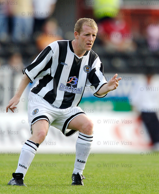 Alex Burke, St Mirren.stock season 2006-2007.pic willie vass