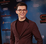 """Tom Holland 090 arrives for the premiere of Sony Pictures' """"Spider-Man Far From Home"""" held at TCL Chinese Theatre on June 26, 2019 in Hollywood, California"""