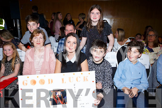 Josie James, Martina Madden, Jack and Shane O'Sullivan and, at back, David O'Sullivan, Mike Quill,  Sophie Quill at the Ballyheigue GAA 'Strictly Come Dancing' in the Ballyroe Heights Hotel on Saturday night