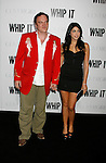 "HOLLYWOOD, CA. - September 29: Quentin Tarantino and Daniella Pick arrive at the Los Angeles premiere of ""Whip It"" at the Grauman's Chinese Theatre on September 29, 2009 in Hollywood, California."
