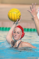 17 February 2008: Stanford Cardinal Kelly Eaton during Stanford's 10-5 win against the UC Davis Aggies at Maples Pavilion in Stanford, CA.