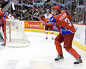 Dmitri Kulikov (Russia - 3) - Russia defeated the Czech Republic 5-1 on Friday, January 2, 2009, at Scotiabank Place in Kanata (Ottawa), Ontario, during the 2009 World Junior Championship.