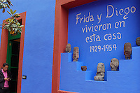 The Blue House of Frida Kahlo - Mexico City