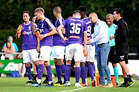 NORG - Voetbal, FC Groningen - SV Meppen, voorbereiding seizoen 2018-2019, 13-07-2018,  FC Groningen trainer Danny Buijs geeft uitleg