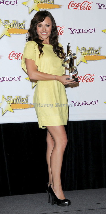 Briana Evigan at the Showest 2009 Awards held at the Paris Hotel in Las Vegas Nevada, April 2, 2009. Fitzroy Barrett