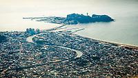 Enoshima from the air