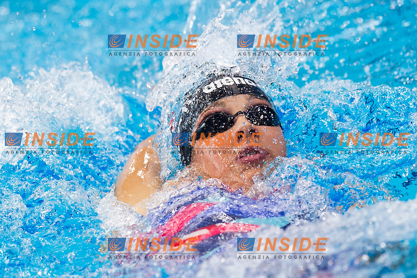 TROMBETTI Luisa ITA<br /> London, Queen Elizabeth II Olympic Park Pool <br /> LEN 2016 European Aquatics Elite Championships <br /> Swimming<br /> Women's 400m medley preliminary <br /> Day 08 16-05-2016<br /> Photo Giorgio Perottino/Deepbluemedia/Insidefoto