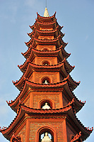 Tran Quoc Pagoda - a famous Buddhist temple in Hanoi, Vietnam