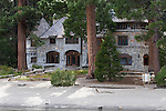 """""""Vikingsholm""""  Emerald Bay, South Lake Tahoe, Ca.  Vikingsholm castle is located at the bottom of Eagle Falls where it drains into Emerald Bay.  There are tow ways to see the building.  While on a boat in Emerald Bay or by hiking down the path from parking lots located just off the highway that goes around the Bay.  The hike down isn't very far and the scenery isn't that bad either. Emerald Bay is the most photographed location in all of Lake Tahoe."""