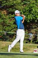 Bethesda, MD - July 1, 2017: Sung Kang in action during Round 3 of professional play at the Quicken Loans National Tournament at TPC Potomac in Bethesda, MD, July 1, 2017.  (Photo by Elliott Brown/Media Images International)