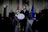 Giuseppe Conte accetta l'incarico da Primo Ministro