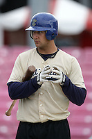 July 8 2009: Mike Zuanich of the Tri City Dust Devils before game against the Salem-Kaizer Volcanoes at Volcano  Stadium in Kaizer,OR.  Photo by Larry Goren/Four Seam Images