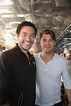 Guiding Light Tom Pelphrey and Jeff Branson at SoapFest's Celebrity Weekend - Cruisin' and Schmoozin' on the Marco Island Princess - mix and mingle and watching dolphins - autographs, photos, live auction raising money for kids on November 11, 2012 Marco Island, Florida. (Photo by Sue Coflin/Max Photos)