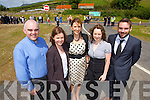 Pictured at the opening of the Annascaul Road on Friday last were l-r: Ger  Kearney, Tracey Smith, Rosemary Cronin, Sheilanne Brosnan and Declan O'Mahony all (Kerry County Council)