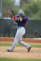Clint Frazier - Cleveland Indians 2016 spring training (Bill Mitchell)