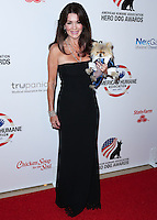 BEVERLY HILLS, CA, USA - SEPTEMBER 27: Lisa Vanderpump, Giggy arrive at the 4th Annual American Humane Association Hero Dog Awards held at the Beverly Hilton Hotel on September 27, 2014 in Beverly Hills, California, United States. (Photo by Xavier Collin/Celebrity Monitor)