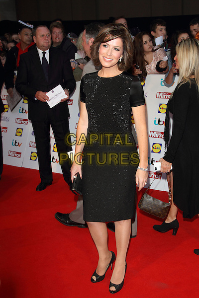 Natasha Kaplinsky<br /> The Daily Mirror's Pride of Britain Awards arrivals at the Grosvenor House Hotel, London, England.<br /> 7th October 2013<br /> full length black dress top skirt<br /> CAP/ROS<br /> &copy;Steve Ross/Capital Pictures