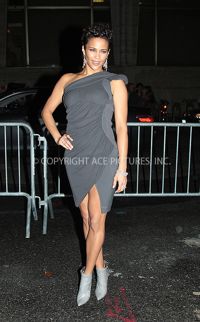 WWW.ACEPIXS.COM . . . . .  ....October 3 2009, New York City....Paula Patton arriving at the 2009 New York Film Festival's screening of 'Precious' at Alice Tully Hall on October 3, 2009 in New York City.....Please byline: AJ Sokalner - ACEPIXS.COM.... *** ***..Ace Pictures, Inc:  ..(212) 243-8787 or (646) 769 0430..e-mail: picturedesk@acepixs.com..web: http://www.acepixs.com