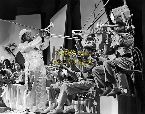 Louis Armstrong<br /> in Dr. Rhythm (1938) <br /> (Doctor Rhythm)<br /> *Filmstill - Editorial Use Only*<br /> CAP/NFS<br /> Image supplied by Capital Pictures