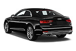 Car pictures of rear three quarter view of a 2018 Audi S5 Premium Plus 2 Door Coupe angular rear