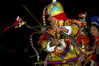 Traditional costumes and jewelry of the warrior ethnic group of Ladakh.