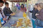 Corn On The Cob Vendor