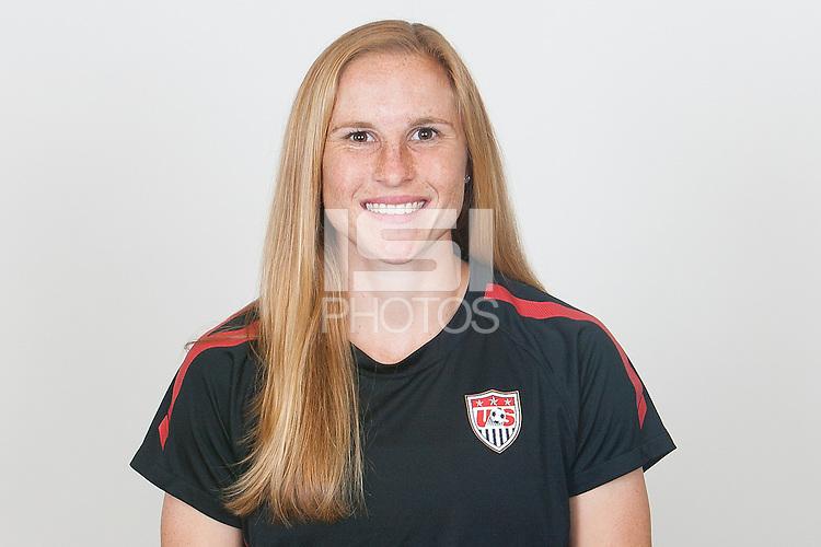 USA Women's National Team Portraits, Friday, January 13, 2012.
