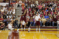 TALLAHASSEE, FLA. 10/15/10-FSUMBB 101510 CH-Florida State's Xavier Gibson slams during the Jam with Ham basketball season kickoff Friday at Tully Gym in Tallahassee...COLIN HACKLEY PHOTO