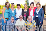 Pictured at the Alps bar-b-q held in Darby O'Gills hotel, Killarney on Saturday evening were Denis O'Riordan, Donal kelliher, Josephy White, Niamh Murphy, Noreen O'Sullivan, Nora Mai Fleming, Fiona Cooney, Eileen Murphy and Marion Howard.