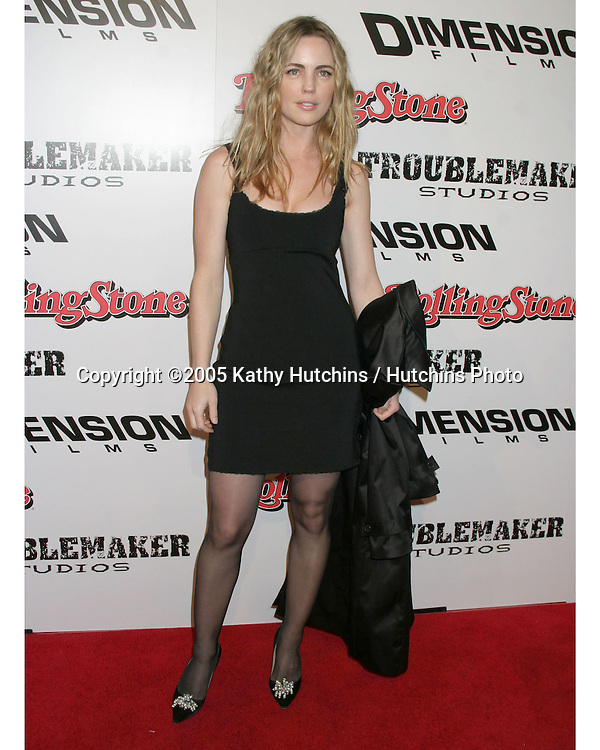 "Melissa George .""Sin City"" Premiere.Mann's National Theater.Westwood, CA.March 28, 2005.©2005 Kathy Hutchins / Hutchins Photo..."