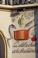 Europe/France/Provence-ALpes-Côte d'Azur/13/Bouches-du-Rhône/Marseille: enseigne d'un restaurant