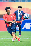 Jeju United Forward Magno Da Cruz Warming up during the AFC Champions League 2017 Group H match Between Jeju United FC (KOR) vs Gamba Osaka (JPN) at the Jeju World Cup Stadium on 09 May 2017 in Jeju, South Korea. Photo by Marcio Rodrigo Machado / Power Sport Images