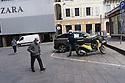 26 marzo 2020, Sassari, piazza Azuni.