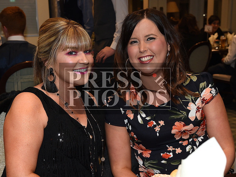 Jennifer Connolly and Grania McCullough at the Naomh Mairtin reunion in the Monasterboice Inn. Photo:Colin Bell/pressphotos.ie