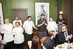 New York, NY - February 12, 2018: Chef Christopher Sheehan of Hartford's Max Downtown presents a whisky-paired dinner at the James Beard House.<br /> <br /> CREDIT: Clay Williams for The James Beard Foundation.<br /> <br /> &copy;Clay Williams / http://claywilliamsphoto.com