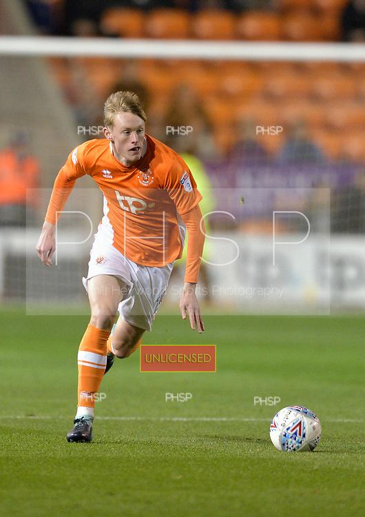 17/10/2017 Sky Bet League 1 Blackpool v Bury<br /> <br /> Sean Longstaff, Blackpool FC