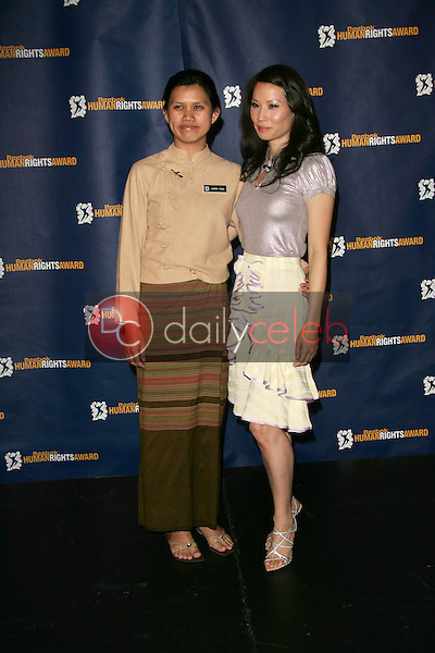 Charm Tong and Lucy Liu<br />