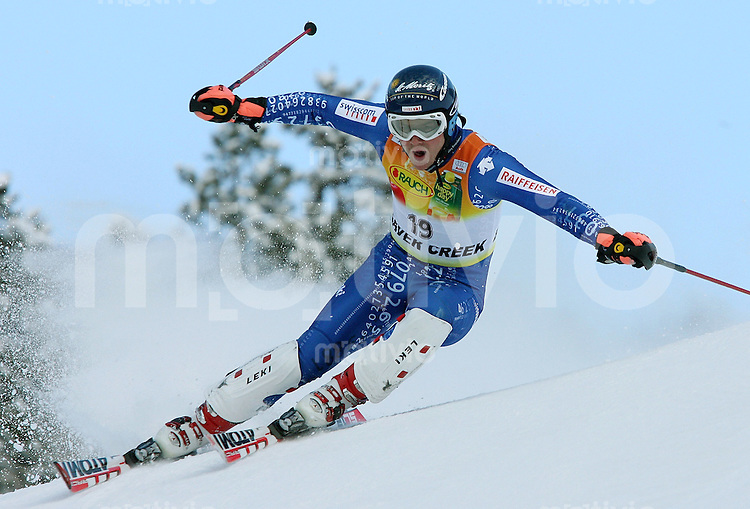 Ski Alpin; Saison 2006/2007   Slalom  Abfahrt Marc Berthod (SUI) belegt Platz 2.