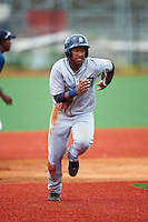 GCL Tigers West third baseman Randel Alcantara (25) running the bases during a game against the GCL Tigers East on August 4, 2016 at Tigertown in Lakeland, Florida.  GCL Tigers West defeated GCL Tigers East 7-3.  (Mike Janes/Four Seam Images)